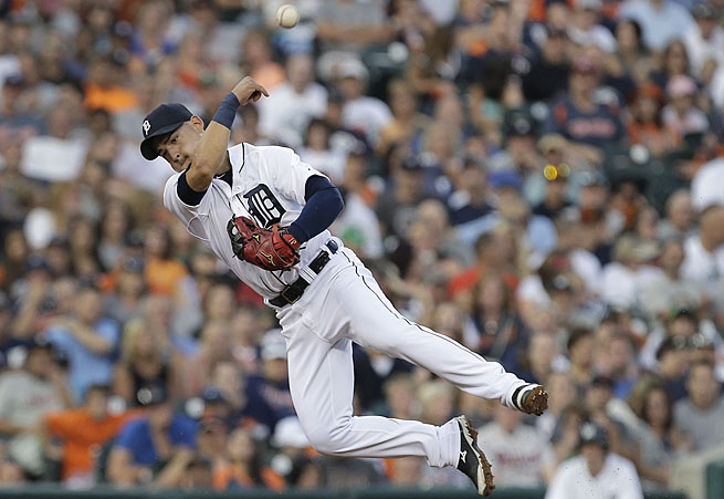 Jose Iglesias has been a notable upgrade at shortstop for the postseason-bound Tigers.