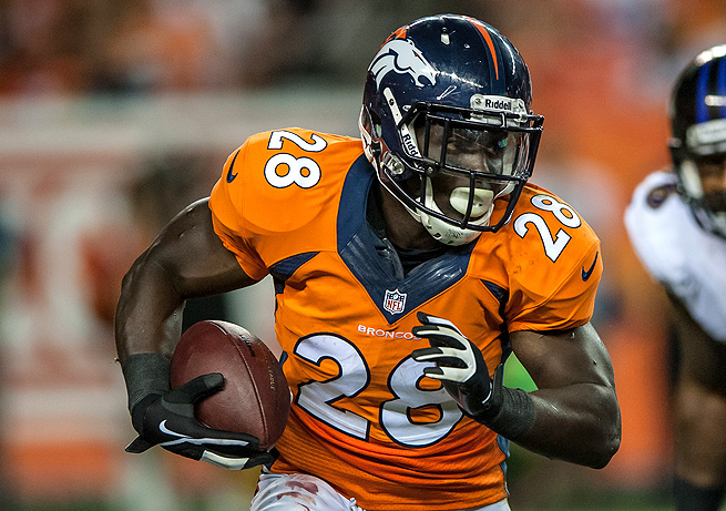 Montee Ball only rushed for 24 yards against the Ravens, but that should pick up as the season continues.