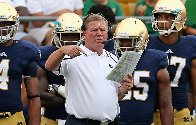If the Irish's loss to Michigan was any indication, Brian Kelly will need alter Notre Dame's pass defense.