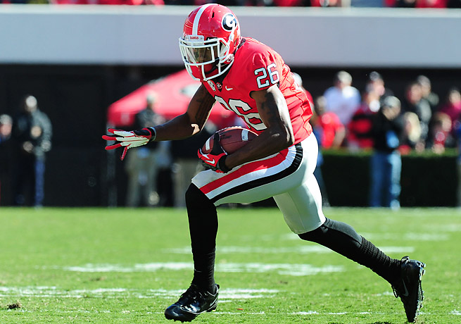 Malcolm Mitchell is expected to be healthy for the start of the 2014 season after surgery for a torn ACL.