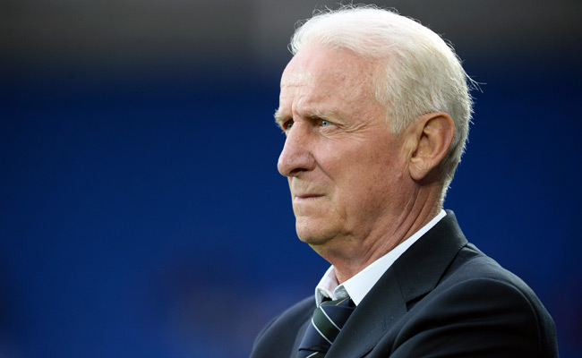 Giovanni Trapattoni's Irish squad was eliminated from World Cup qualifying after a loss to Austria.