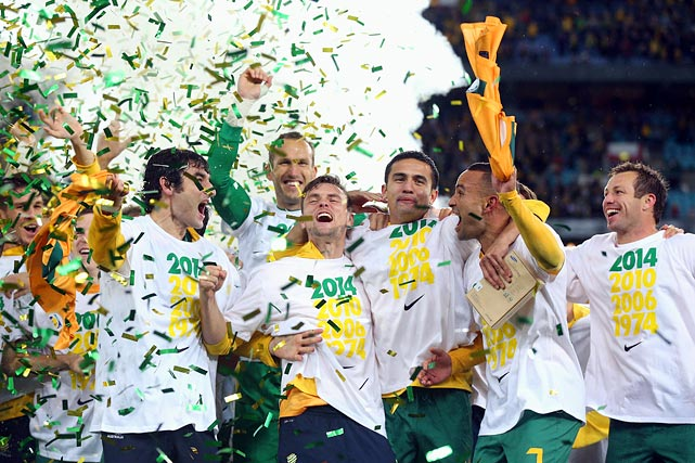 Australia went 3-4-1 in its group in the Asian Football Confederation, enough to finish second and qualify for the World Cup.