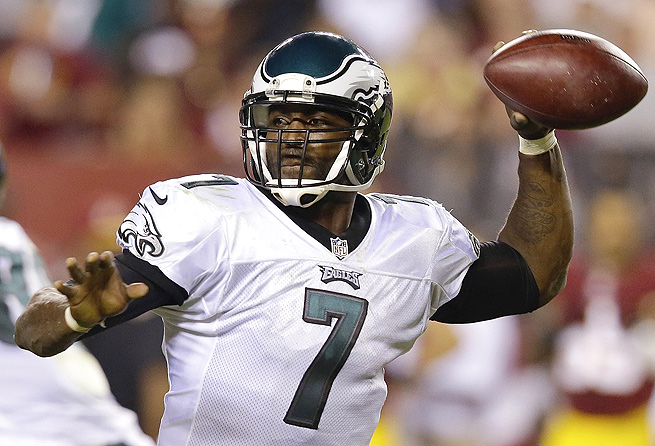 Michael Vick threw for 203 yards in Week 1, but look for him to surpass that against San Diego Sunday.