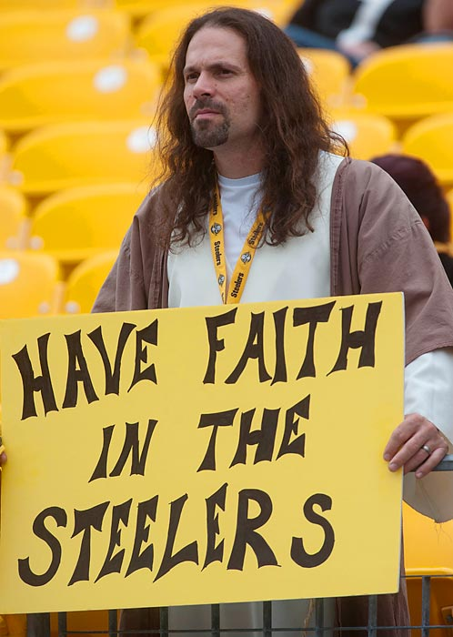 A busload of faith is in order, judging by the looks of their Week 1 loss to Tennessee.