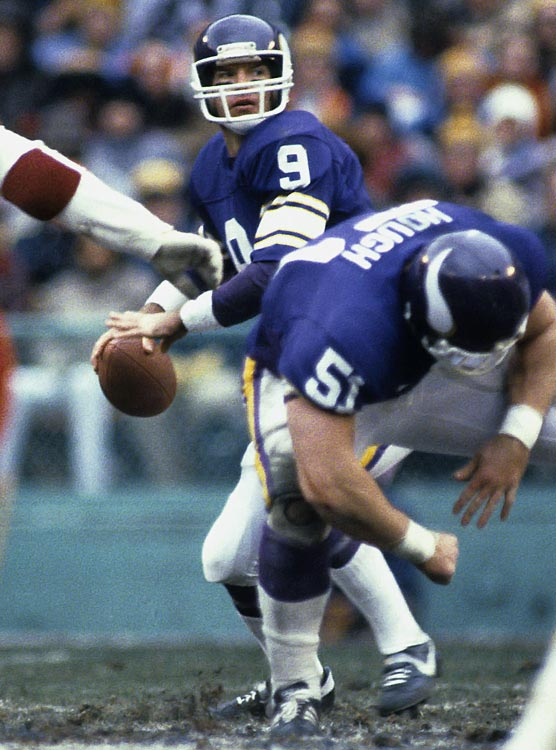 Rookie quarterback Tommy Kramer relieved Bob Lee late in Minnesota's game with San Francisco and threw three fourth-quarter touchdown passes. The Vikings overcame five turnovers in turning a 24-0 deficit into a 28-27 victory.