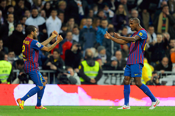 The 34-year-old Abidal had a liver transplant in 2012, keeping him away from football for one year.