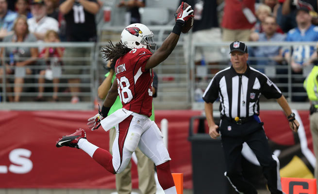 Andre Ellington scored a first-half touchdown, and was one of many Cardinals to step up vs. the Lions.