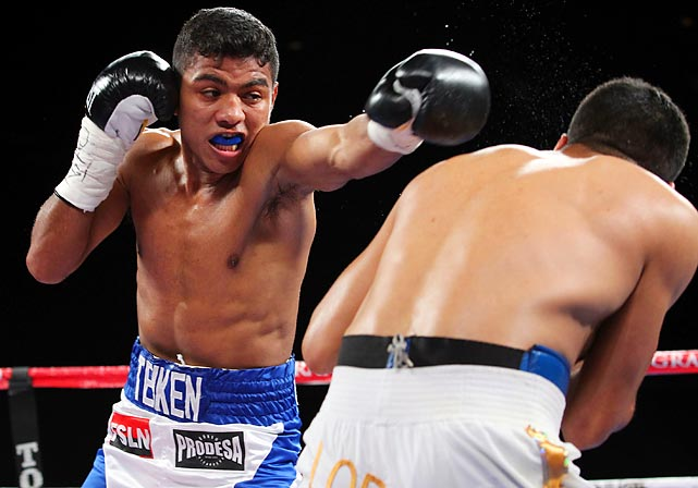 The flyweight star continues his romp through the sport, wiping out Oscar Blanquet in two rounds this month. There has not been a huge market for fighters in Gonzalez's weight class(es), but at 26, Gonzalez could make new fans, and quickly. Up next could be a rematch with unified titleholder Juan Francisco Estrada, whom Gonzalez outpointed last year. All records through Nov. 25