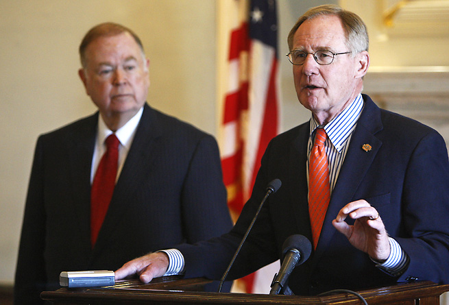 Oklahoma State president Burns Hargis promised to take action concerning alleged improprieties.