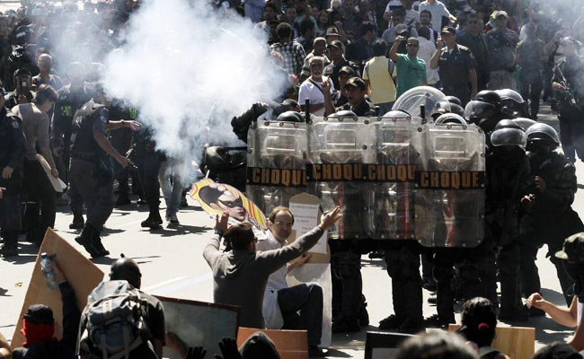 This summer's widespread protests in Brazil could start again during the World Cup next year.
