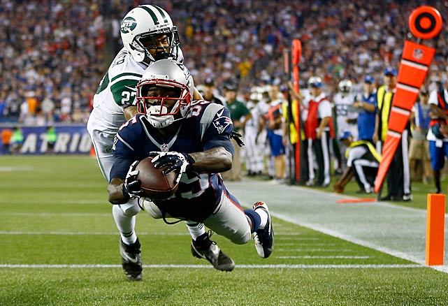 The NFL is now in its third season of reviewing every scoring play. Here are some of the more interesting ones from Week 2 that were either upheld or wiped away, beginning with Kenbrell Thompkins, who didn't maintain possession of this ball when he hit the ground, leading to the touchdown being reversed upon review.