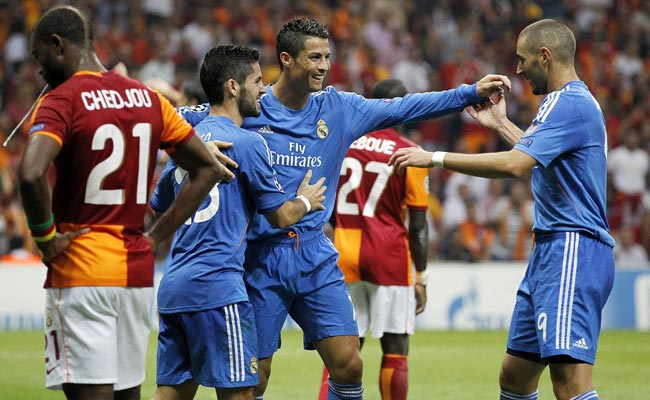 Days after extending his contract with Real, Cristiano Ronaldo scored three goals for the Galacticos.