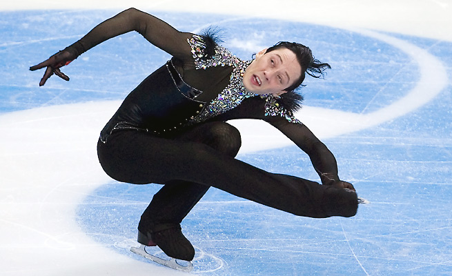 Figure skater Johnny Weir has not competed in nearly a year since November's Rostelecom Cup.