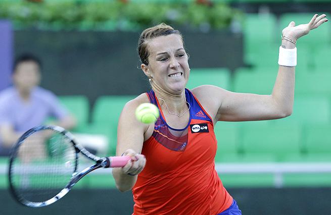 Anastasia Pavlyuchenkova will face Irina-Camelia Begu in the quarterfinals of the Korea Open.