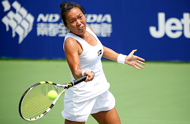 Vania King took down Bojana Jovanovski to advance to her first quarterfinals in over a year.