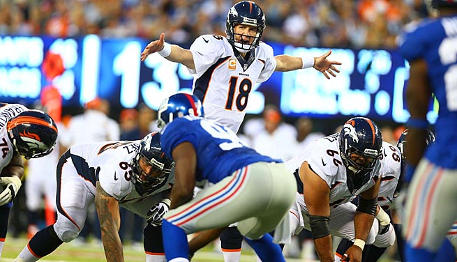 Could Peyton Manning and the Broncos go undefeated this season? It's fair to wonder.