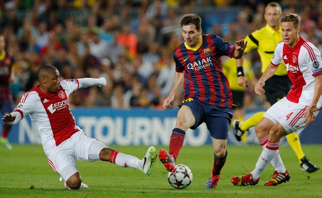 Barcelona's Lionel Messi has now scored 62 goals in his Champions League career.