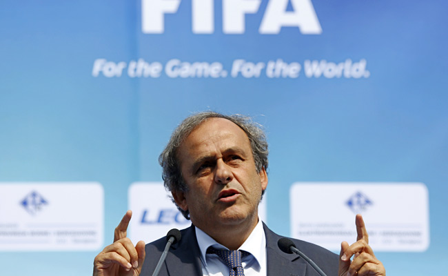 Michel Platini is expected to announce UEFA's position on the World Cup controversy soon.