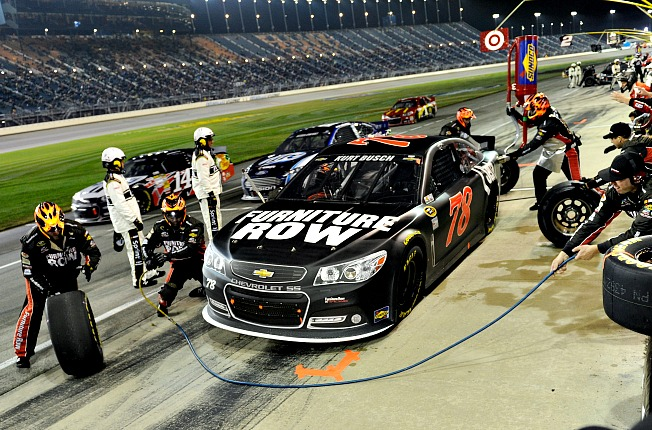 """It's the pits: Kurt Busch has a problem with NASCAR's """"bogus"""" ruling."""