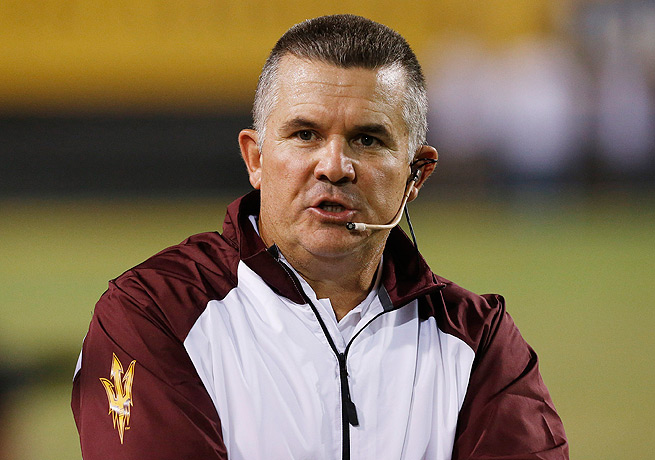 Todd Graham is now slated to be the Sun Devils' head coach through the 2018 season.