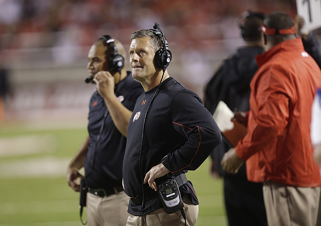 Utah coach Kyle Whittingham has decided not to take action over a video involving a mock baptism.