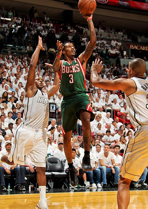 Jennings went to the Pistons from the Bucks in a sign-and-trade in the offseason.