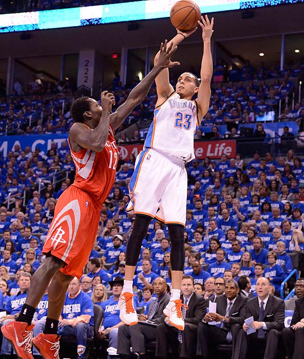 Martin left the Thunder to sign with the Timberwolves in the offseason.