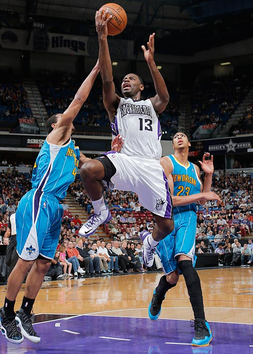 Evans went to the Pelicans from the Kings in a sign-and-trade in the offseason.