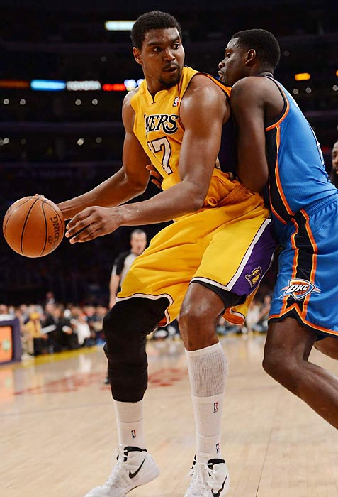 Bynum was traded from the Lakers to the 76ers in August 2012, but he missed last season with knee injuries. He signed with the Cavaliers in the offseason.