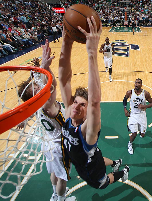 Kirilenko left the Timberwolves to sign with the Nets in the offseason.
