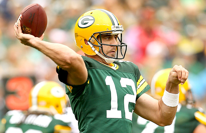 Aaron Rodgers should again have another strong passing game against the Cincinnati defense.