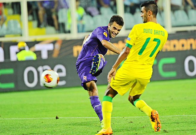 Giuseppe Rossi is expected to return to Fiorentina prior to the Coppa Italia final against Napoli on May 3.