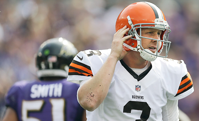 Brandon Weeden may not return as the Browns' starter after two subpar starts.