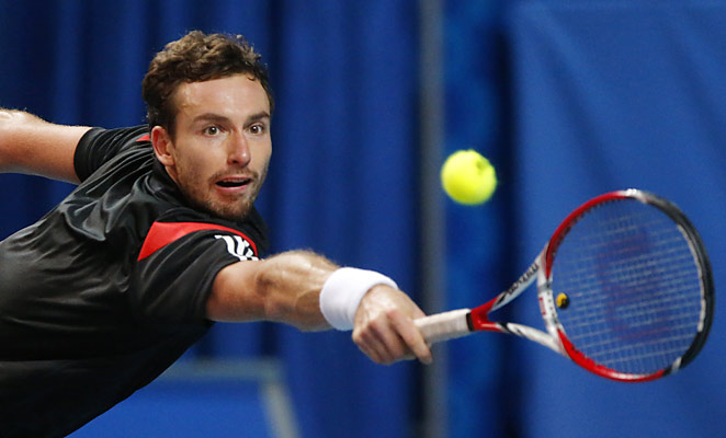 Ernests Gulbis defeated Guillermo Garcia-Lopez in the St. Petersburg Open final.