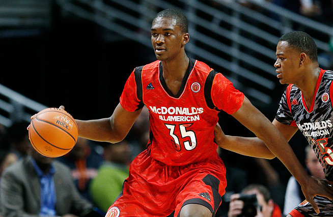 Freshman Noah Vonleh will be a central figure as Tom Crean looks to rebuild his Indiana roster this season.
