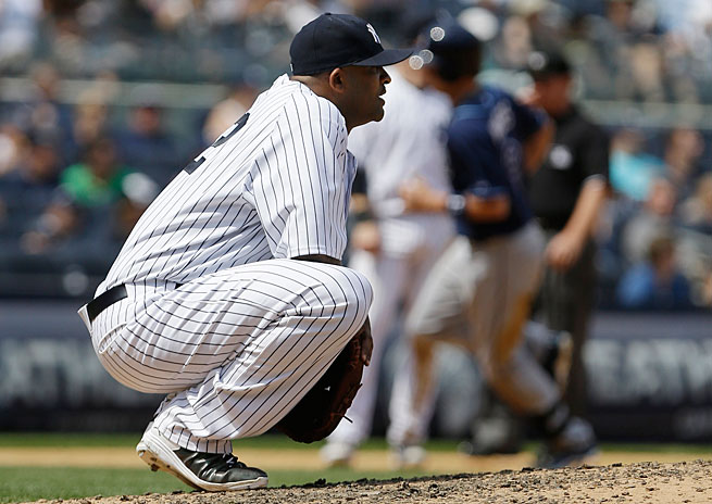 CC Sabathia had an off-year and was shut down this week with a hamstring injury.
