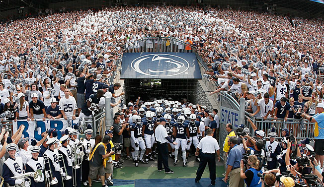 The NCAA announced on Tuesday that it will restore scholarships to the Penn State football program.