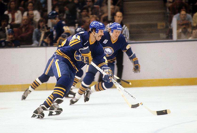 In terms of a single period, the Sabres are the most prolific team in NHL history. In 1981, host Buffalo scored nine times during the second stanza of a 14-4 demolition of the Maple Leafs. Toronto also tallied three times during what must have been an entertaining period for the fans. It was the kind of tallying that's usually reserved for the league's All-Star Game.