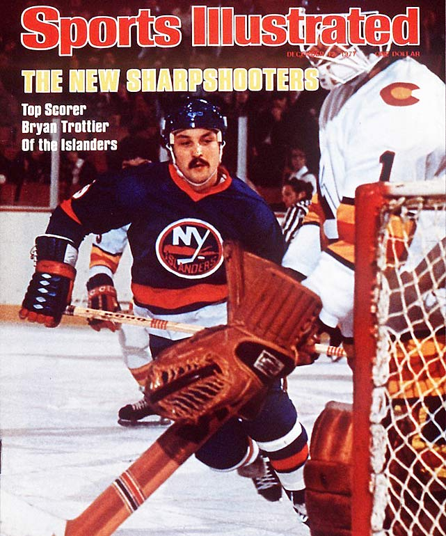 Mike Bossy's linemate and fellow Hall of Famer Bryan Trottier racked up a record six points -- a hat trick and three assists -- in one period on Dec. 23, 1878 vs. the rival New York Rangers. A total of 14 players have produced five-point periods.