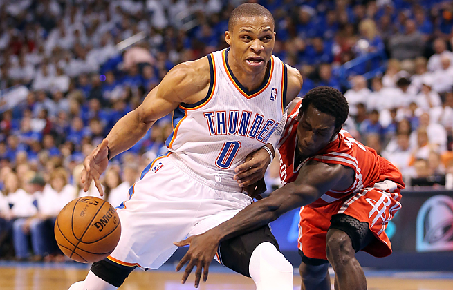 Russell Westbrook's recovery from a knee injury may cause him to miss the beginning of the season.