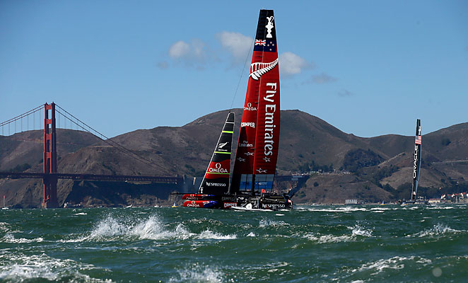 Team Oracle USA won the America's Cup after completing an epic comeback against New Zealand.