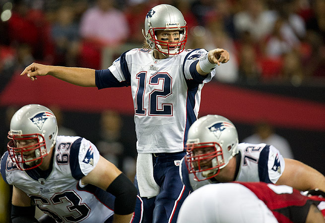 Can Tom Brady and the Patriots move to 4-0 this week against the Falcons?