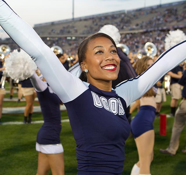 UConn's Ashley loves Kanye West, wants to dine with Joan Rivers, and hopes to go to the Super Bowl one day. To learn more about her, read her Extra Mustard profile.