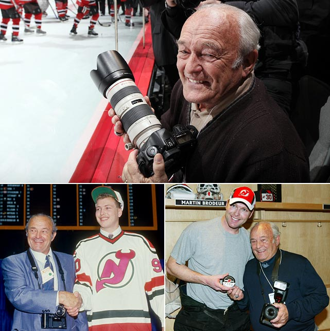Denis Brodeur, the father of New Jersey Devils goalie Martin Brodeur and one of hockey's greatest photographers, passed away at the age of 82 on Sept. 26, 2013. Here's a sample of some of his most memorable photographs.
