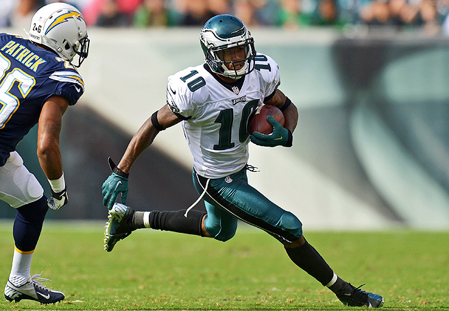 DeSean Jackson is thriving in the Eagles' revamped offense, making big plays all over the field.