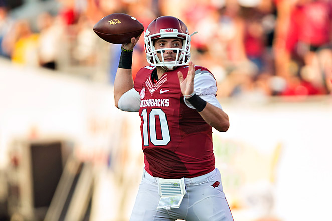 QB Brandon Allen injured his throwing shoulder two weeks ago against Southern Mississippi.