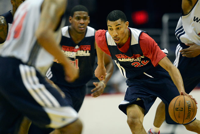 Otto Porter said he slipped and fell during a recent voluntary pickup game.