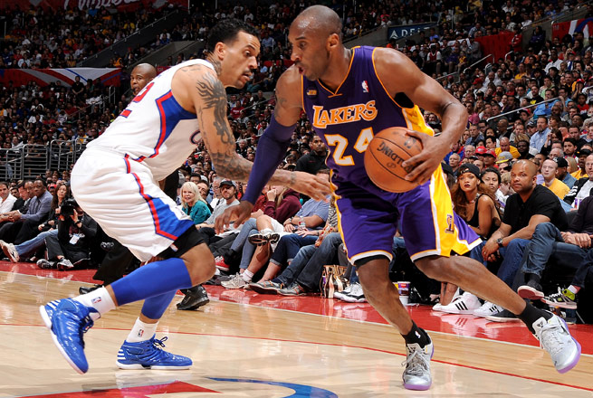 Kobe Bryant said he 'feels good,' but doesn't have a timetable for his return.
