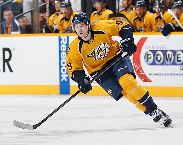 Stolen from the Capitals at the trade deadline, Forsberg is exactly the sort of big-bodied, offensively minded forward the Predators never seem to draft but always desperately need. He's a bit raw at this point, but his terrific shot and ability to create space with speed would be a nice add for a team that tied for last in goal scoring last season.