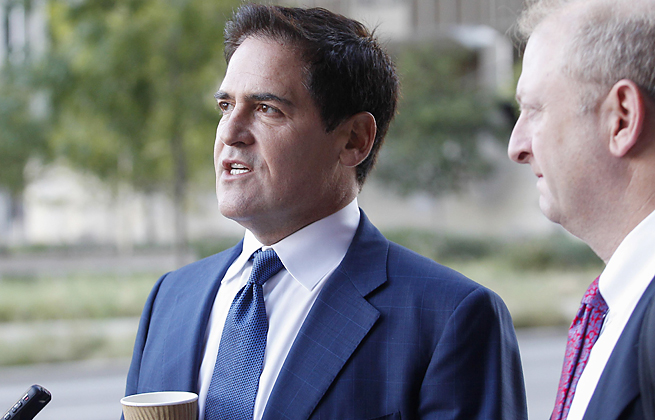 Mark Cuban faces a lawsuit from the SEC that accuses the Mavericks owner of insider trading.